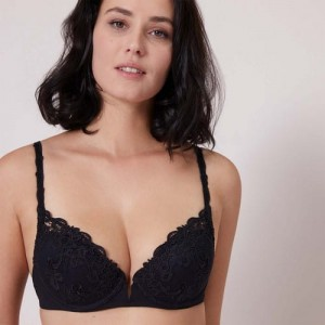 Simone Perele Saga 15C340 Push-up Black
