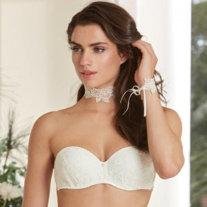 Lise Charmel Art et Volupté ACG5622 Push Up Strapless Ecru Nacre
