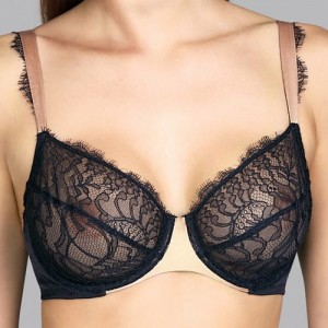 Andres Sarda Love 3309311 Full cup Wire bra Miski D-E Charcoal