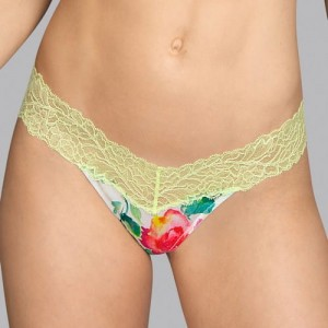 Andres Sarda Flower 3309155 Short Thong Flowered