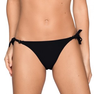 Primadonna Swim Cocktail 4000153 Bikini Briefs waist ropes Black
