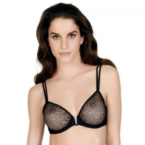 Implicite Rebel 25E314 Half cup Balcony Moulded Noir